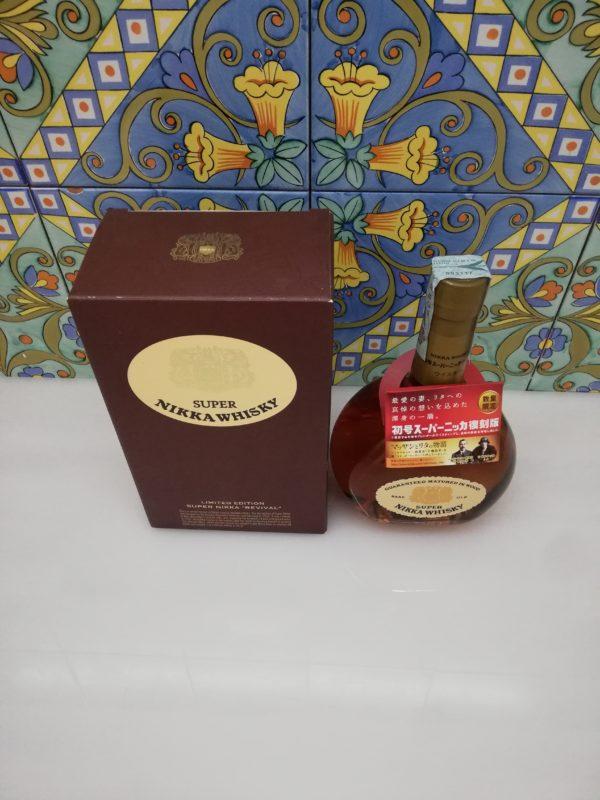 "Whisky Super Nikka ""Revival"" Limited Edition Vol 43% Cl 70"