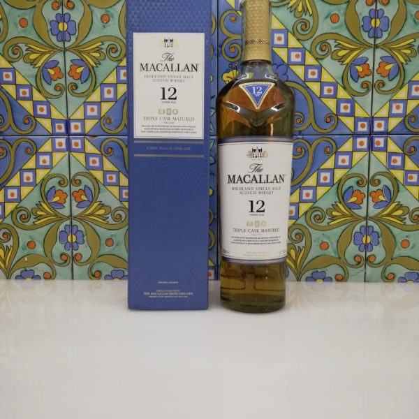 Whisky Macallan 12 Y.o. Triple Cask Matured Vol 40% Cl 70