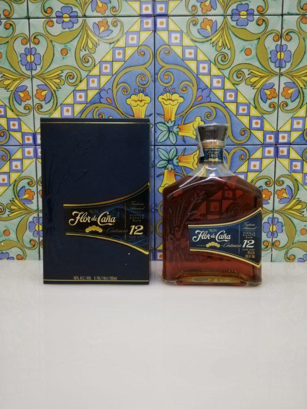 Rum Ron Flor de Cana Centenario 12 y.o. cl 70 vol 40%