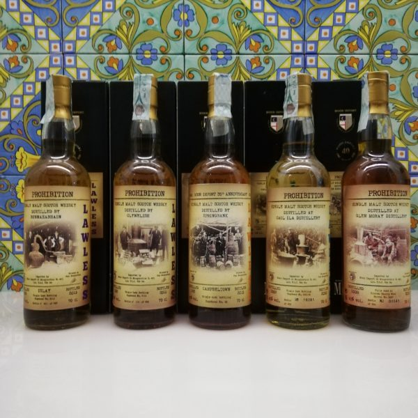 Whisky Moon Import release Lawless  5x 70 cl vol 45%