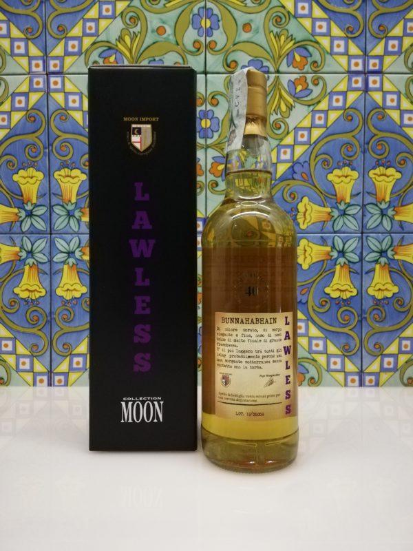 """Whisky Moon Import Bunnahabhain """"Lawless"""" Distilled 1990 cl 70 vol 45%"""