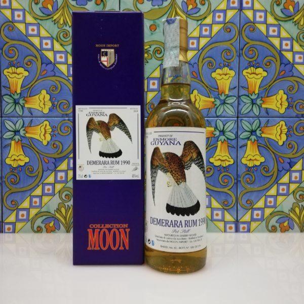Rum Demerara Enmore 1990 Moon Import 26 y.o. cl 70 vol 45%