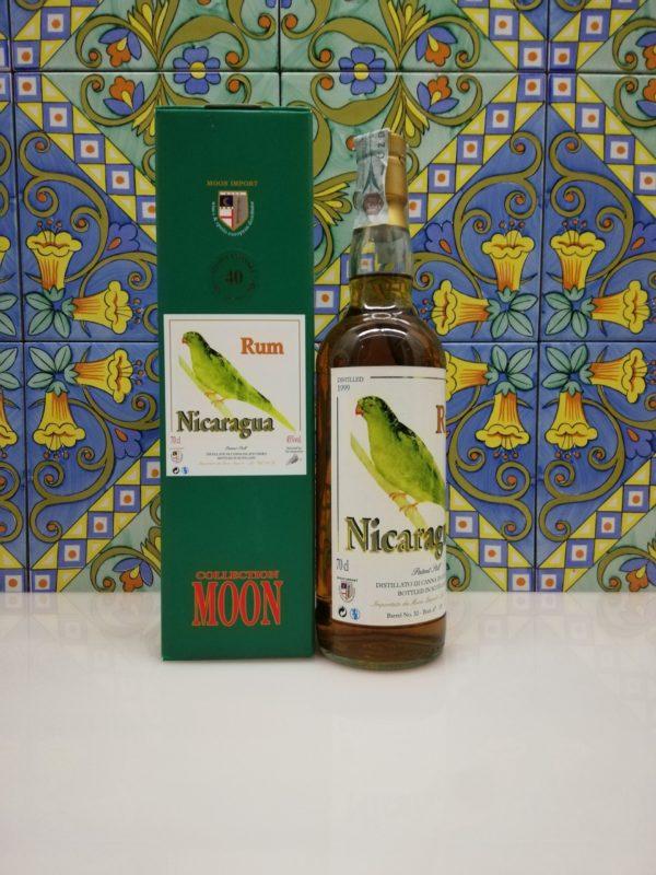 Rum Nicaragua 1999 Moon Import 20 y.o. cl 70 vol 45%