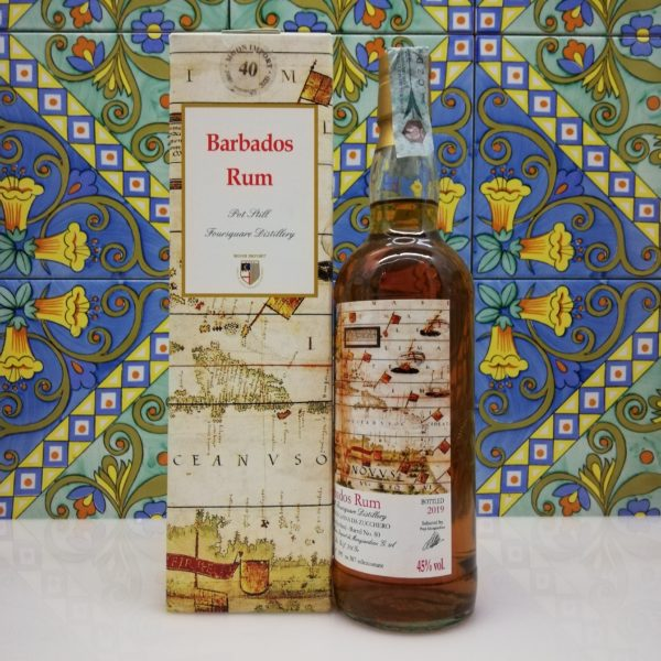Rum Barbados Foursquare 2005 Moon Import cl 70 vol 45%