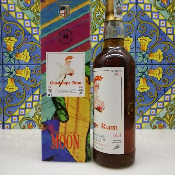 Rum Guadalupe 1998 Moon Import 20 y.o. cl 70 vol 45%