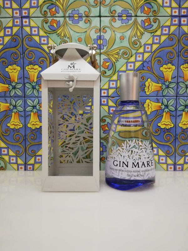 "Gin Mare Mediterranean "" Lanterna Edition "" Vol 42,7% cl 70"