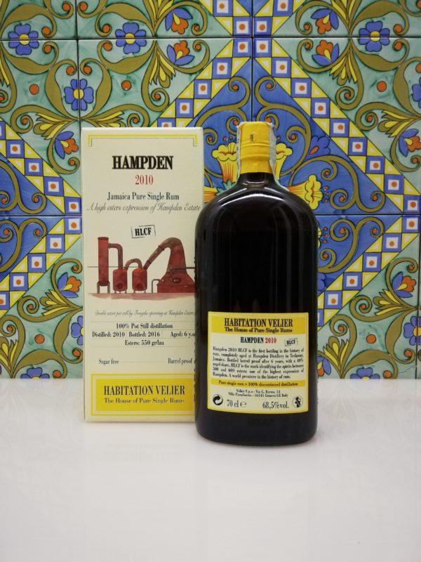 Rum Habitation Hampden HLCF 2010 cl 70 vol 68.5% Velier