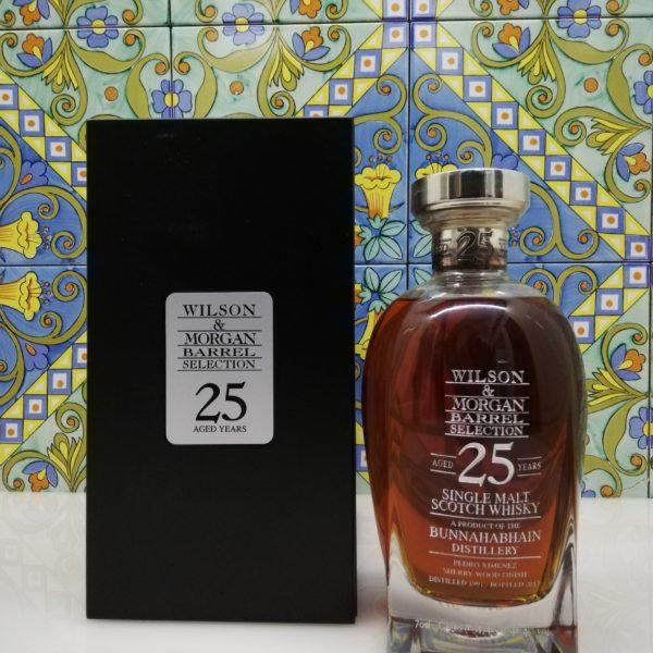Whisky Bunnahabhain 1991 Wilson and Morgan 25 Year Old Decanter vol 48.4% cl 70