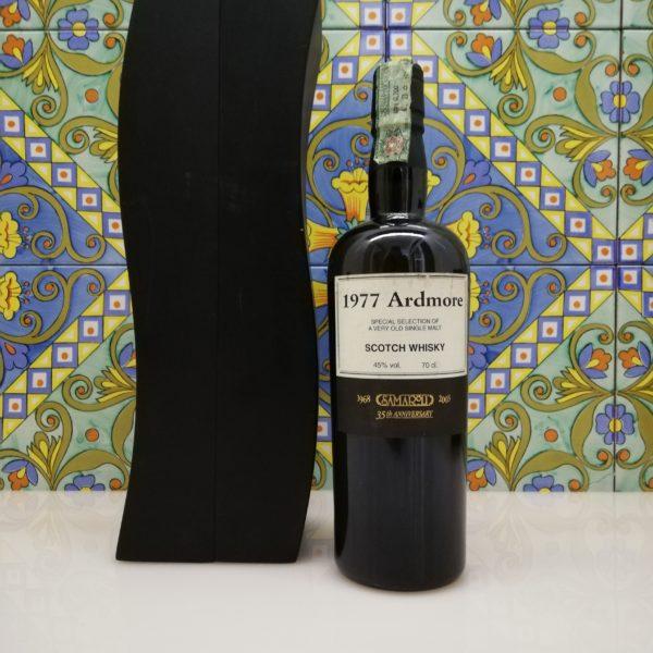 Whisky Ardmore 1977 Samaroli / 35th Anniversary vol 45% cl 70 Wood box