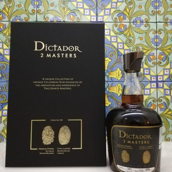 Rum Dictador 2 Masters Laballe 1976 cl 70 vol 46%