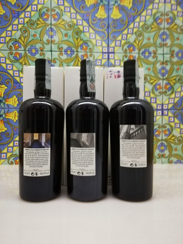 Rum Serie Villa Paradisetto 2nd release Monymusk – Privateer – Chamarel 3×70 cl