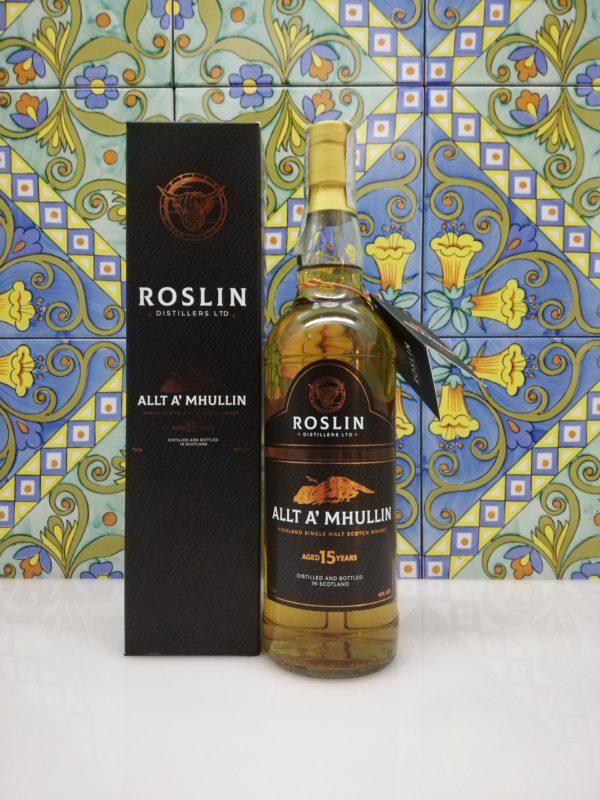 Whisky Allt A' Mhullin  15 y.o. Single Malt  Roslin Distillers vol 46% cl 70