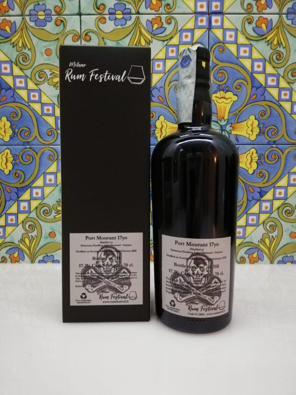 Rum Port Mourant 2002 Single Cask Demerara Distillery vol 57.2% cl 70