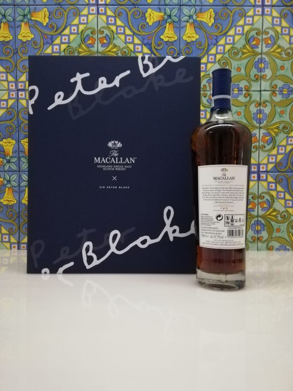 Whisky The Macallan Sir Peter Blake Highland Single Malt vol 47.7% cl 70