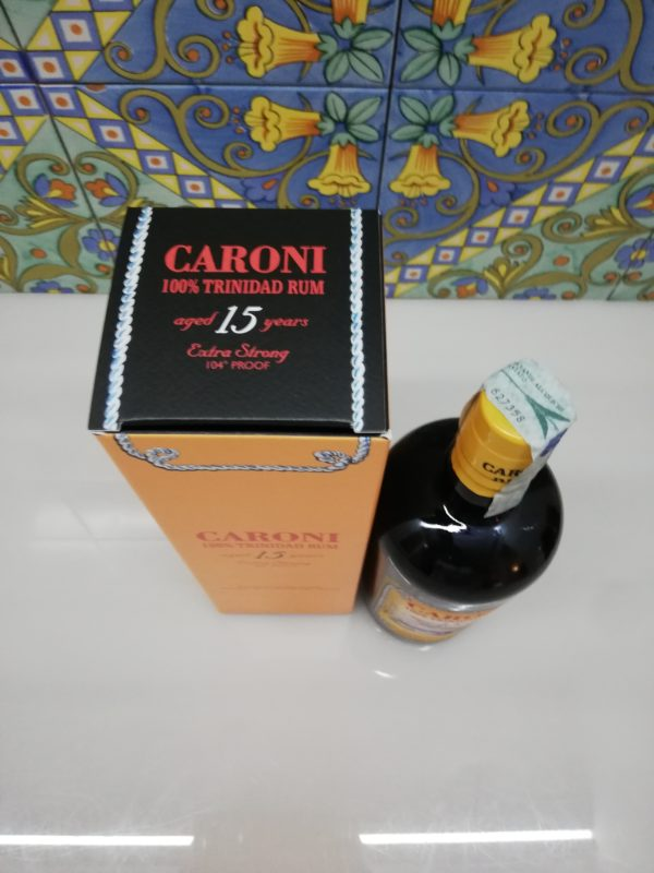 Rum Caroni 15 y.o. Extra Strong vol 52% cl 70