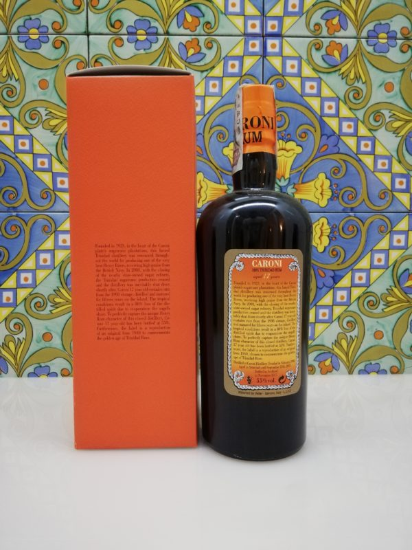 Rum Caroni 17 y.o. Extra Strong vol 55% cl 70