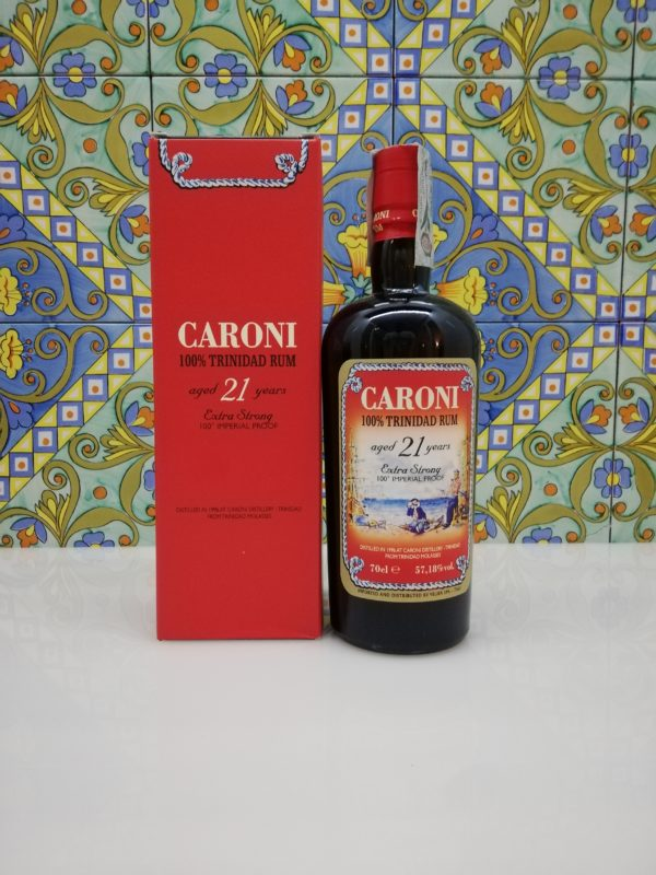 Rum Caroni 21 y.o. Extra Strong vol 57.18% cl 70