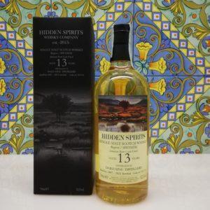 Whisky Dailuaine 13 y.o. Single Malt Hidden Spirits cl 70 vol 52.1%