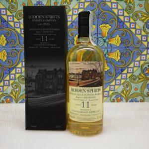 Whisky Croftengea 11 y.o. Single Malt Hidden Spirits cl 70 vol 51.7%