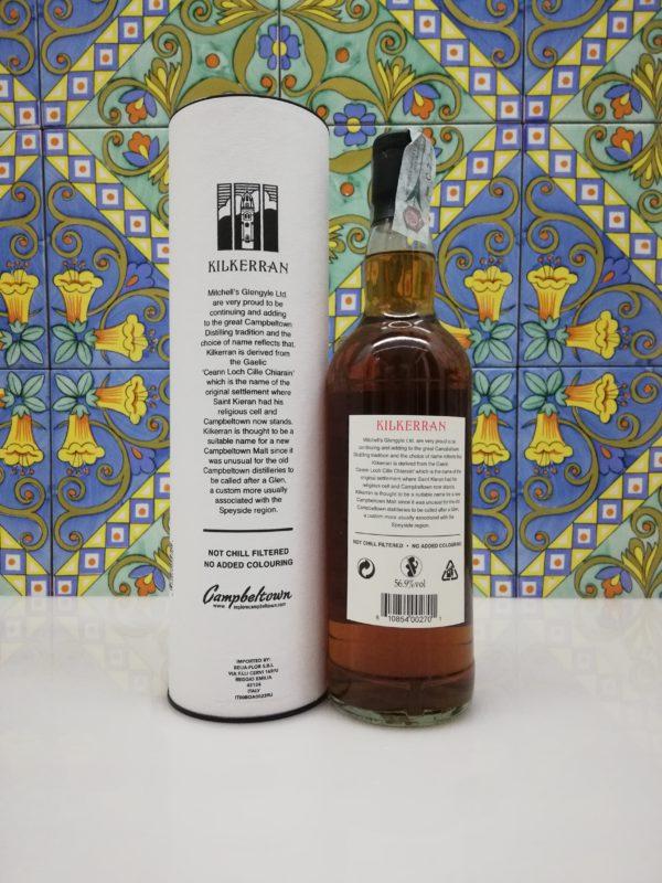 Whisky Kilkerran 8 Y.O. Single Malt Scotch cl 70 vol 56.9%