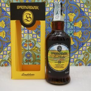Whisky Springbank 2010 Local Barley 10 Year Old cl 70 vol 55.6%