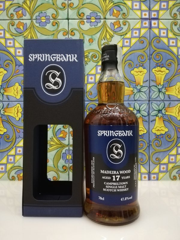 Whisky Springbank 2002 Madeira Wood 17 Year Old cl 70 vol 47.8%