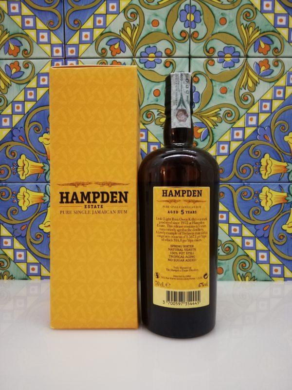 Rum Hampden LROK The Younger 5 y.o. cl 70 vol 47%