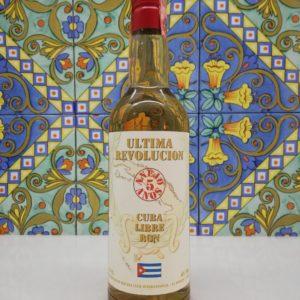 Rum Ultima Revolucion 5 y.o Velier vol 40% cl 70