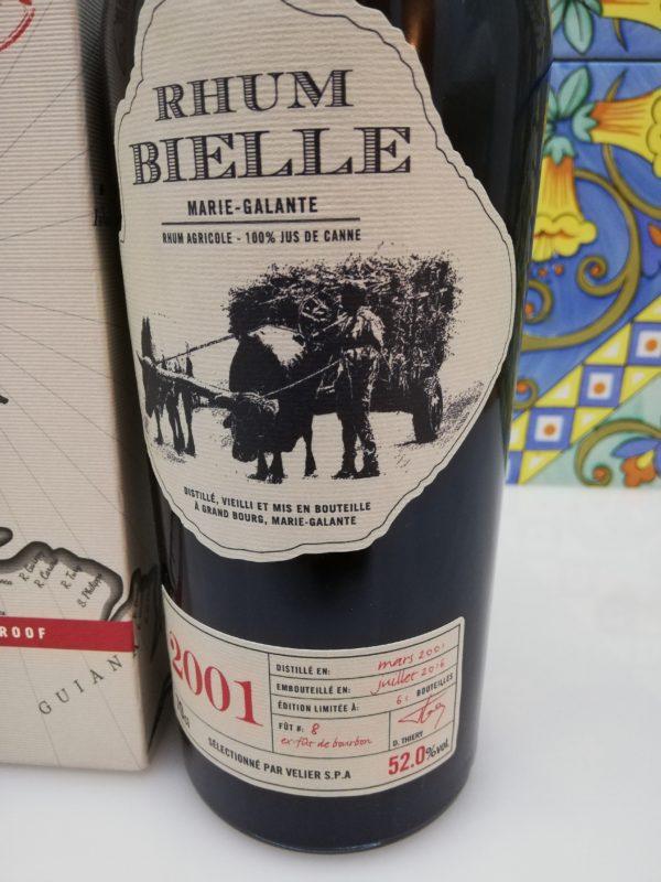 Rum Rhum Bielle 2001 Full Proof vol 52% cl 70
