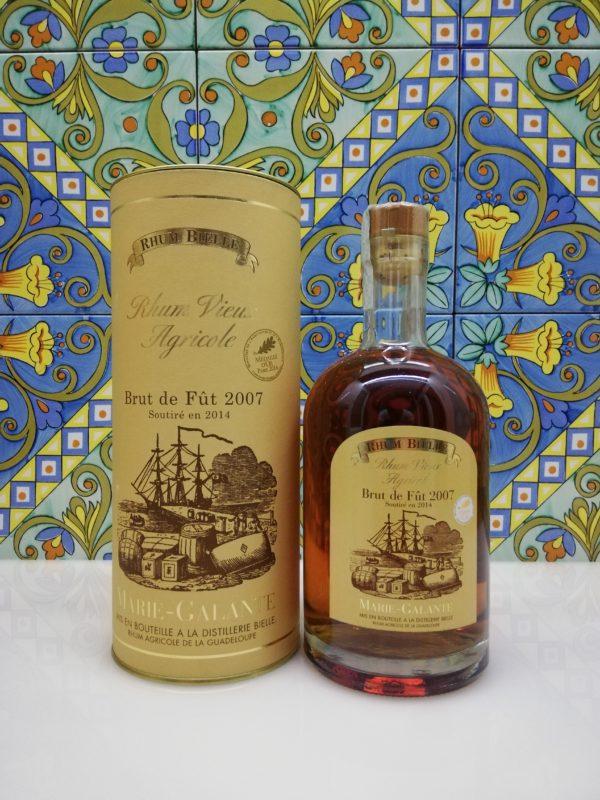 Rum Bielle Agricole Vieux Brut de Fut 2007 vol 57.3% cl 70 Marie Galante