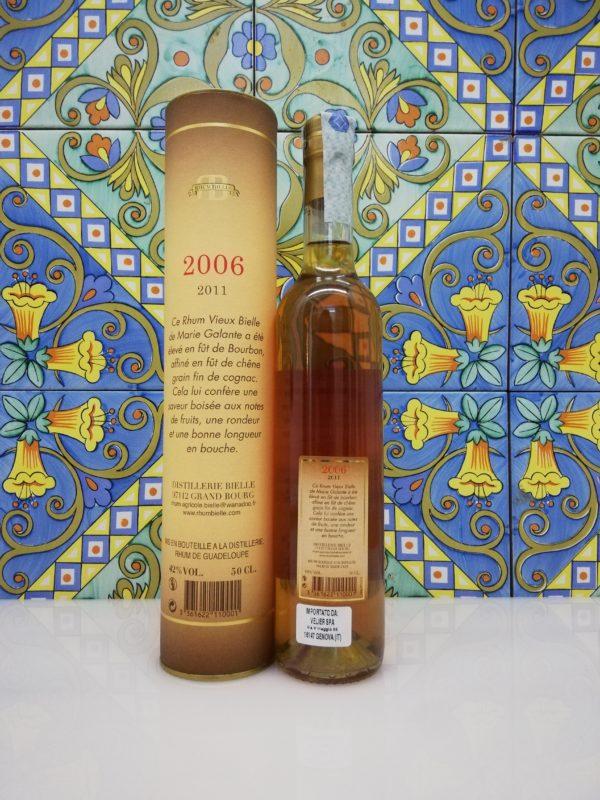 Rum Rhum Bielle Agricole Vieux 2006 cl 50 vol 42% – Marie Galante