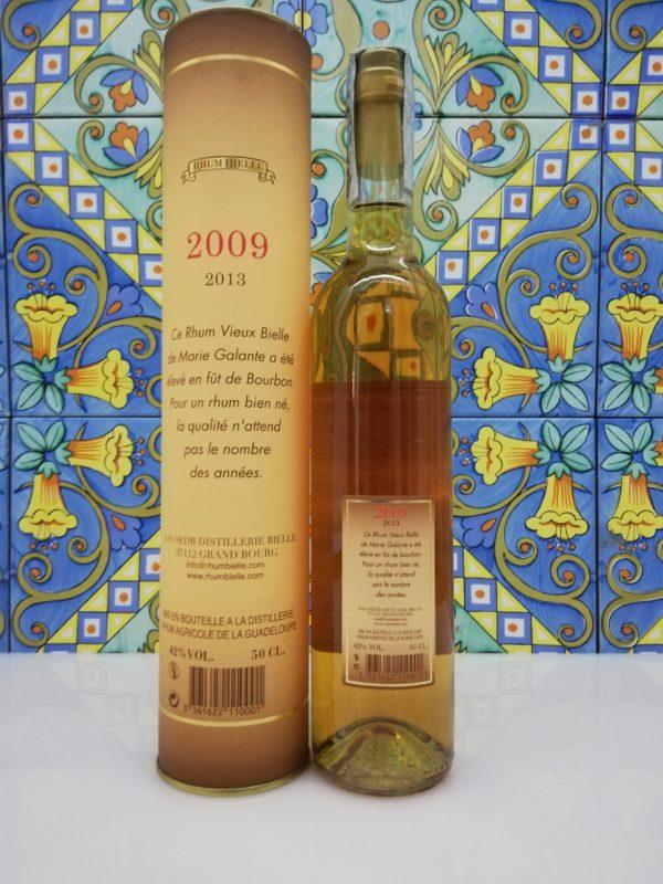 Rum Rhum Bielle Agricole Vieux 2009 cl 50 vol 42% – Marie Galante