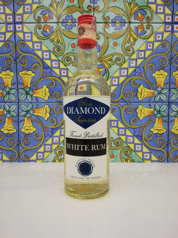 Rum Ron Diamond Superior White Duncan Gilbey & Matheson cl 75 vol 43