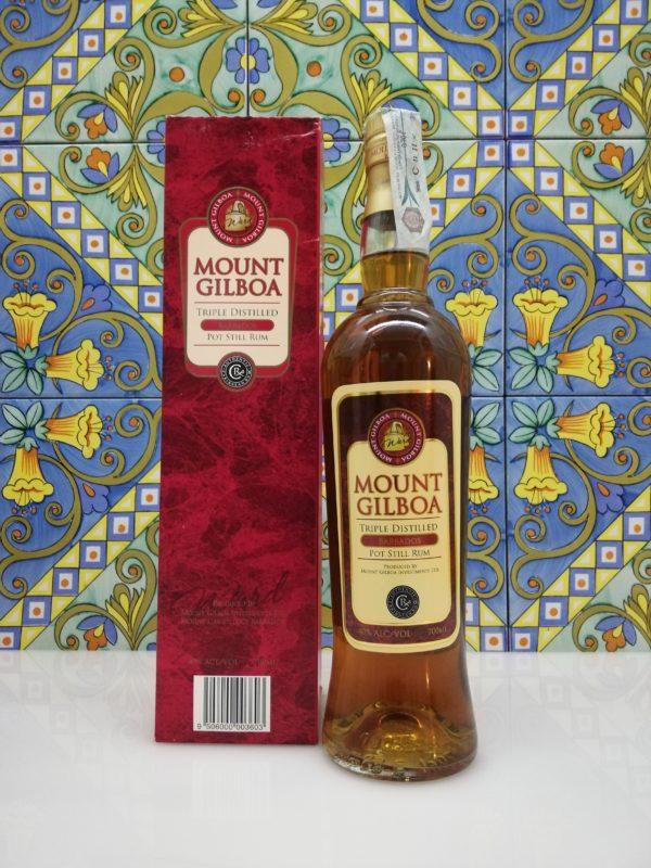 Rum Mount Gilboa Triple Distilled Barbados vol 40% cl 70