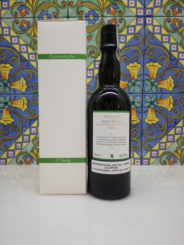 Whisky Ben Nevis 1990 Single Malt 70° Velier Anniversary vol 60.5% cl 70