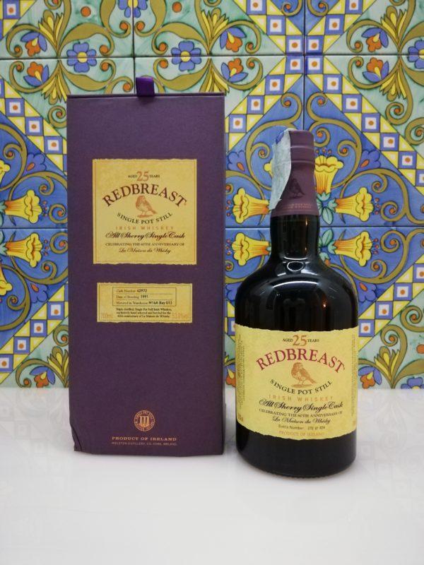 Whisky Redbreast 25 y.o. Irish Whiskey  60th Anniversary LMDW cl 70 vol 53%