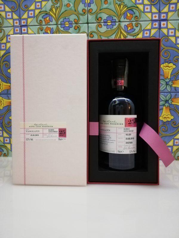 Whisky Tasglann 25 Y.O. Rare Cask Reserves cl 70 vol 52%