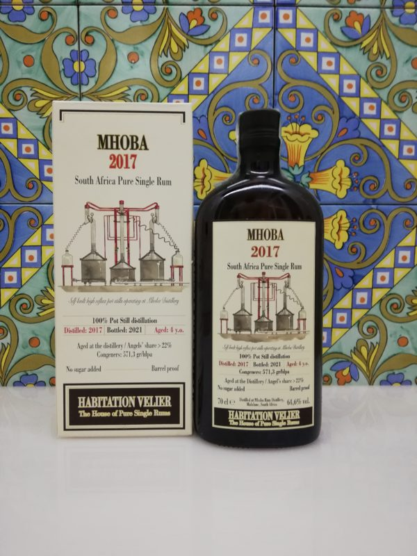 Rum Habitation Velier 4 y.o. Mhoba 2017 cl 70 vol 64.60%