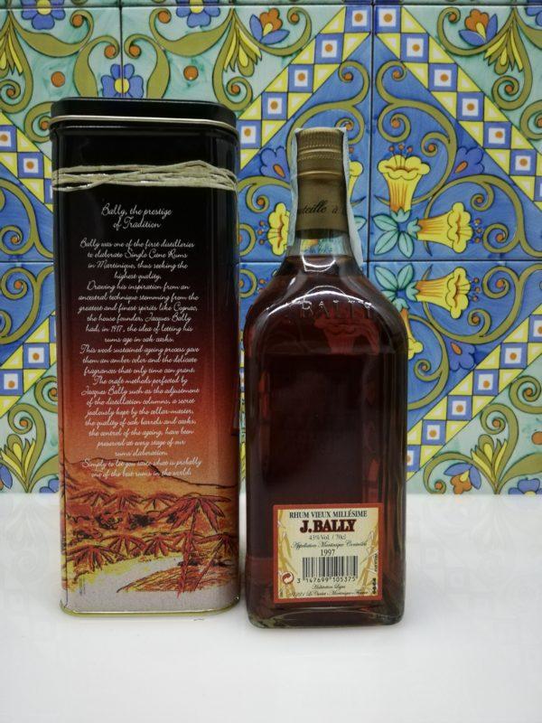 Rum Rhum J.Bally Millesime 1997 cl 70 vol 43%