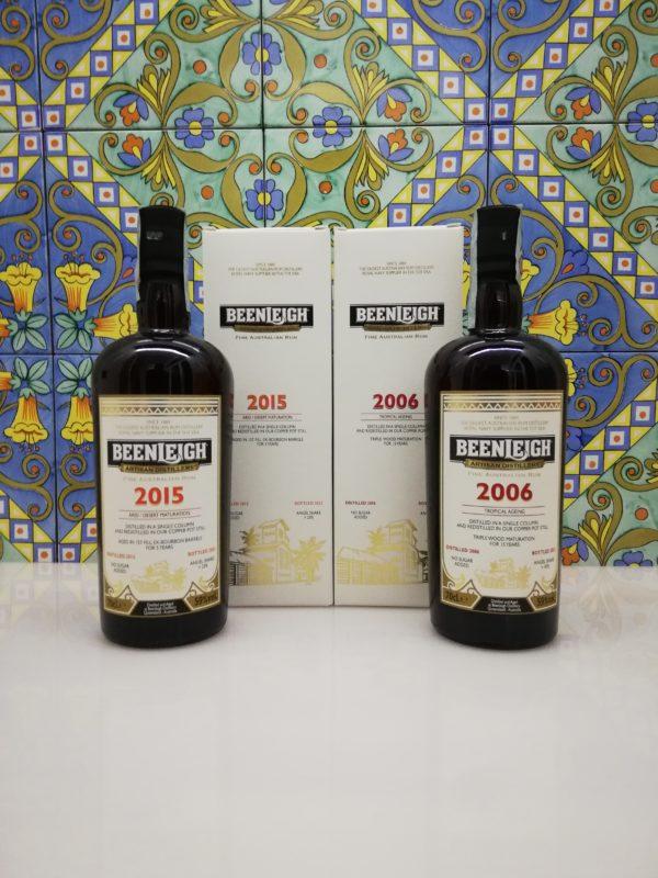 Rum Set Beenleigh 2006-2015 Fine Australian Rum 2xcl 70